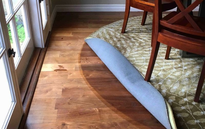Protection from Sun-Caused Faded Floors and Furnishings