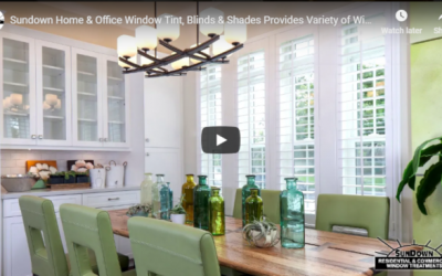 Sundown Home & Office Window Tint, Blinds & Shades: Your Quality Provider of Window Coverings