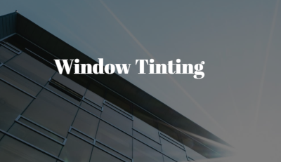 Why Our Office Window Tint is the Professional Option to Choose